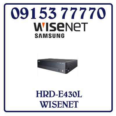 HRD-E430L Đầu Ghi Hình SAMSUNG WISENET AHD 4 Kênh HRD-E430L Giá Rẻ