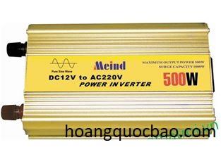 INVERTER KÍCH ĐIỆN SIN CHUẨN 500W -24V MEIND KHÔNG SẠC