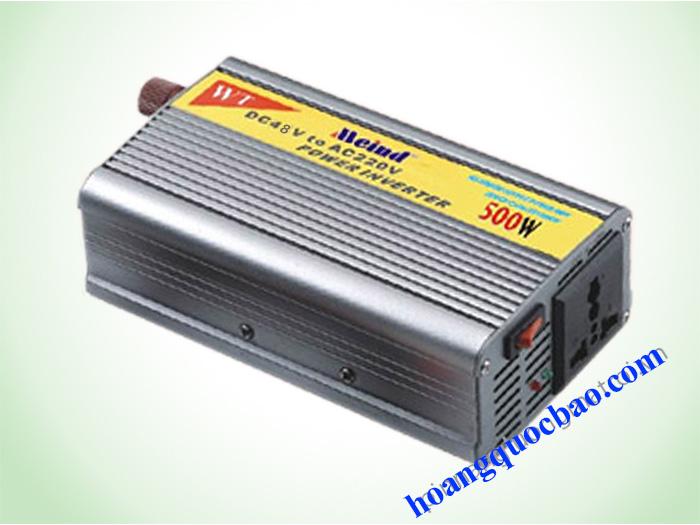 INVERTER MEIND 500W/48V - KÍCH ĐIỆN 48VDC SANG 220VAC (MI500C)