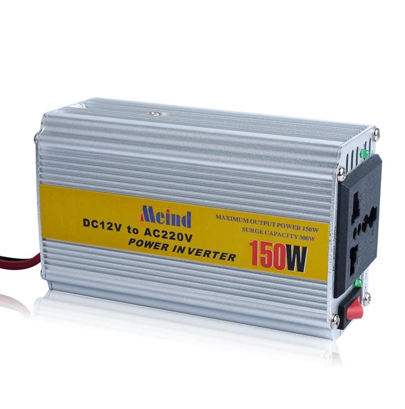 INVERTER MEIND BỘ ĐỔI ĐIỆN 24VDC CHUYỂN SANG 220VAC 150W24V
