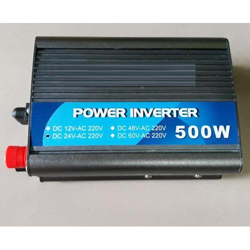 INVERTER POWER BỘ ĐỔI ĐIỆN 24VDC LÊN 220VAC -500W/24V