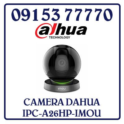 IPC-A26HP-IMOU Camera DAHUA IP Wifi 2.0MP IPC-A26HP-IMOU Giá Rẻ Tặng thẻ Nhớ 32GB