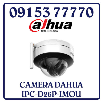 IPC-D26P-IMOU Camera DAHUA IP Wifi 2.0MP IPC-D26P-IMOU Giá Rẻ