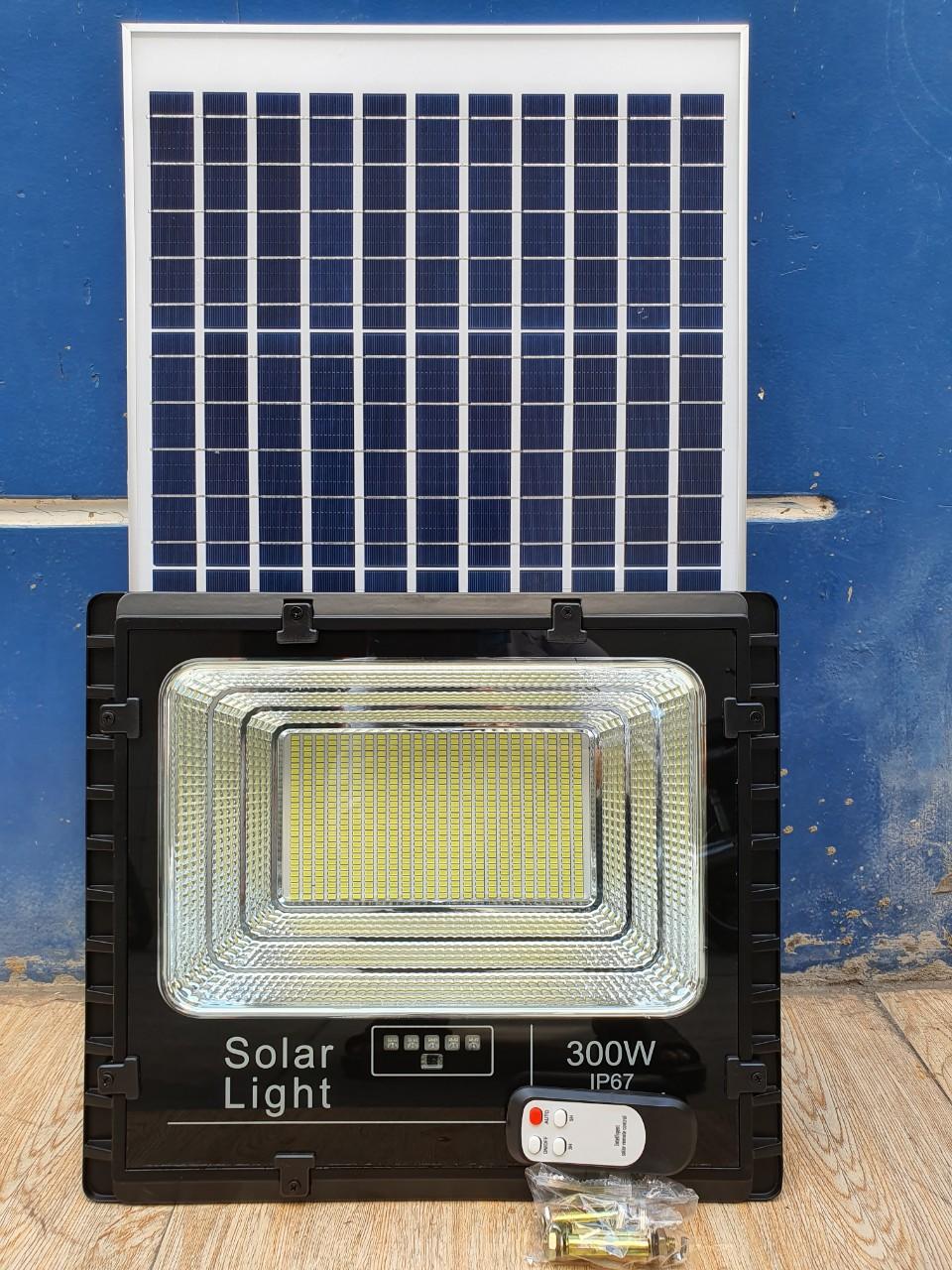 JD-8300L - Đèn Năng Lượng Mặt Trời JD-8300L 300W Giá Rẻ