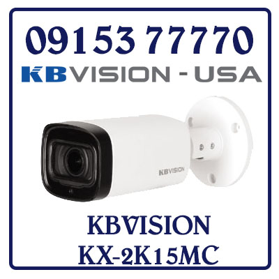 KX-2K15MC Camera KBVISION HD CAMERA CVI DÒNG 2K (4.0 MP)
