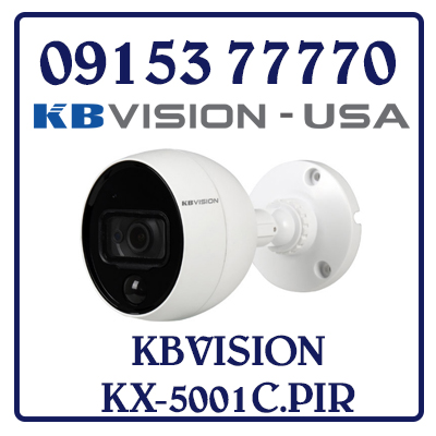 KX-5001C.PIR HD CAMERA CVI PIR 5.0MP