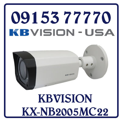 KX-NB2005MC22 Camera KBVISION HD CAMERA CVI NIGHT BREAKER (2.0 MP) KX-NB2005MC22