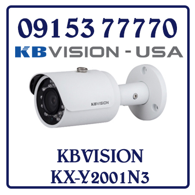 KX-Y2001N3 Camera IP KBVISION KX-Y2001N3 Giá Rẻ
