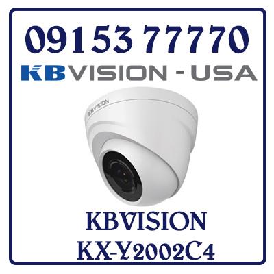 KX-Y2002C4 Camera KBVISION HD Analog Giá Rẻ