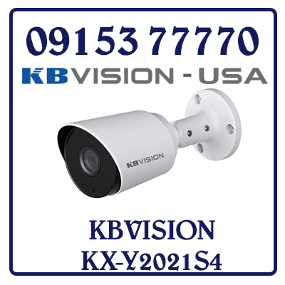KX-Y2021S4 Camera KBVISION HD Analog Giá Rẻ