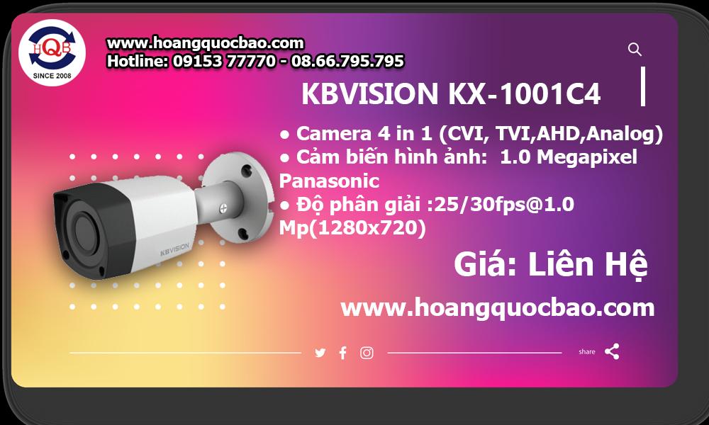 Mua camera KX-1001C4 ở đâu tại vũng tàu