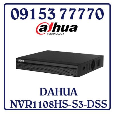 NVR1108HS-S3-DSS Đầu Ghi Hình DAHUA IP NVR1108HS-S3-DSS Giá Rẻ