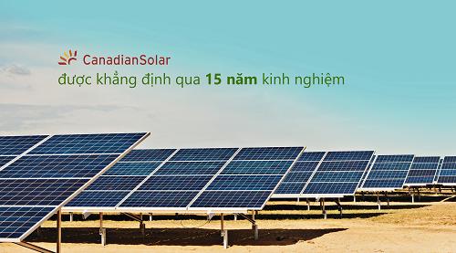 Pin năng lượng mặt trời Canadian (Mono - Class A) 370W