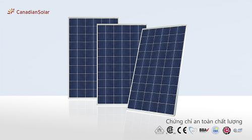Pin năng lượng mặt trời Canadian (Mono - Class A) 380W
