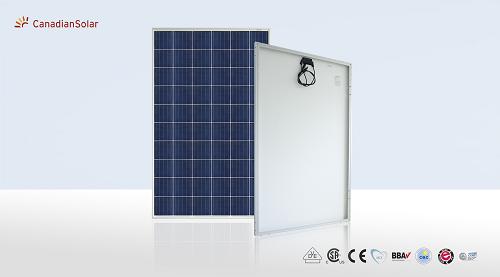 Pin năng lượng mặt trời Canadian (Poly- Class A) 390W