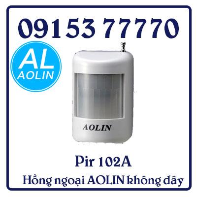 Pir 102A Hồng ngoại AOLIN không dây có chân đế. Dùng 1v pin 9V nhỏ gọn (New)