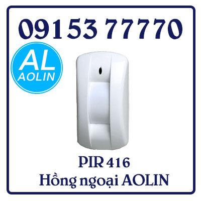 PIR 416 Hồng ngoại AOLIN dạng màn chắn không dây có chân đế. Dùng pin12V (New)