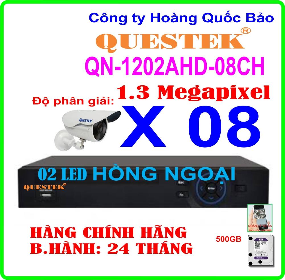 Hệ Thống 8 Camera QN-1202AHD-08CH