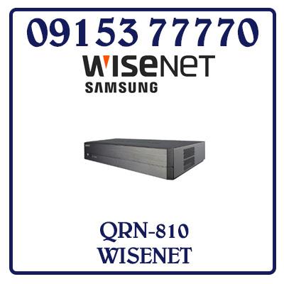 QRN-810 Đầu Ghi Hình SAMSUNG WISENET IP Giá Rẻ