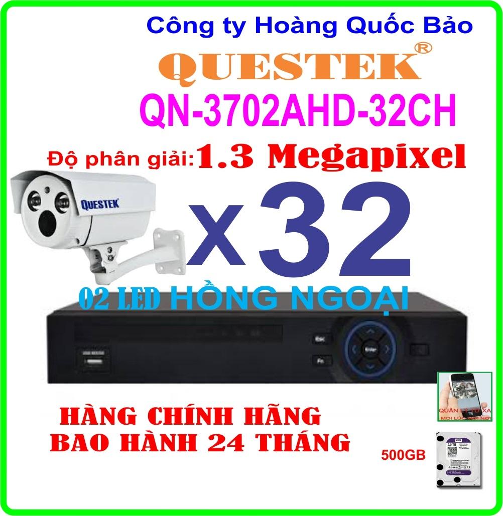 Hệ Thống 32 Camera Khuyến Mãi QUESTEK QN-3703AHD- 32CH
