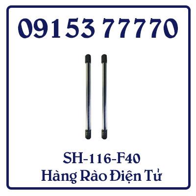 SH-116-F40 Hàng rào điện tử rất phù hợp cho các căn hộ biệt thự