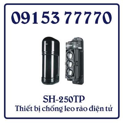 SH-250TP Thiết bị chống leo rào điện tử được lắp đặt trên tường rào