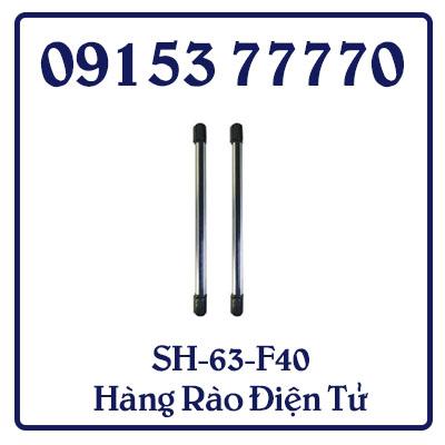 SH-63-F40 Hàng rào điện tử  rất phù hợp cho các căn hộ biệt thự