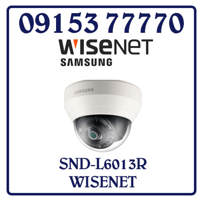 SND-L6013R Camera SAMSUNG WISENET IP Dome Hồng Ngoại Giá Rẻ