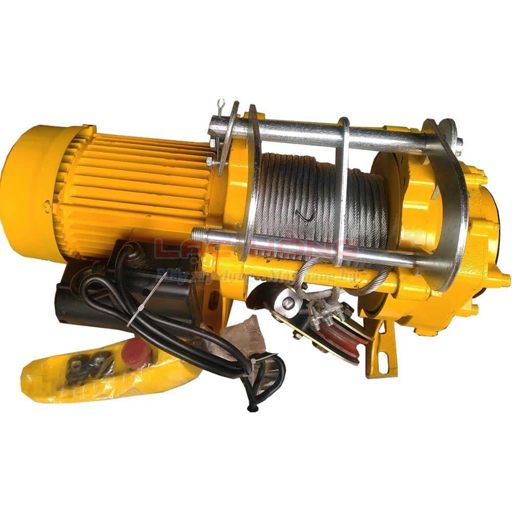 Tời điện đa năng 280 kg nhanh KENBO KCD200/400-60m 220v