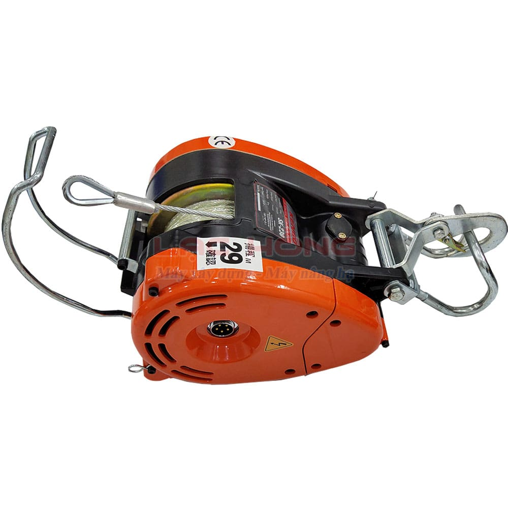Tời điện mini 230kg nhanh KENBO SK230 30m 220v
