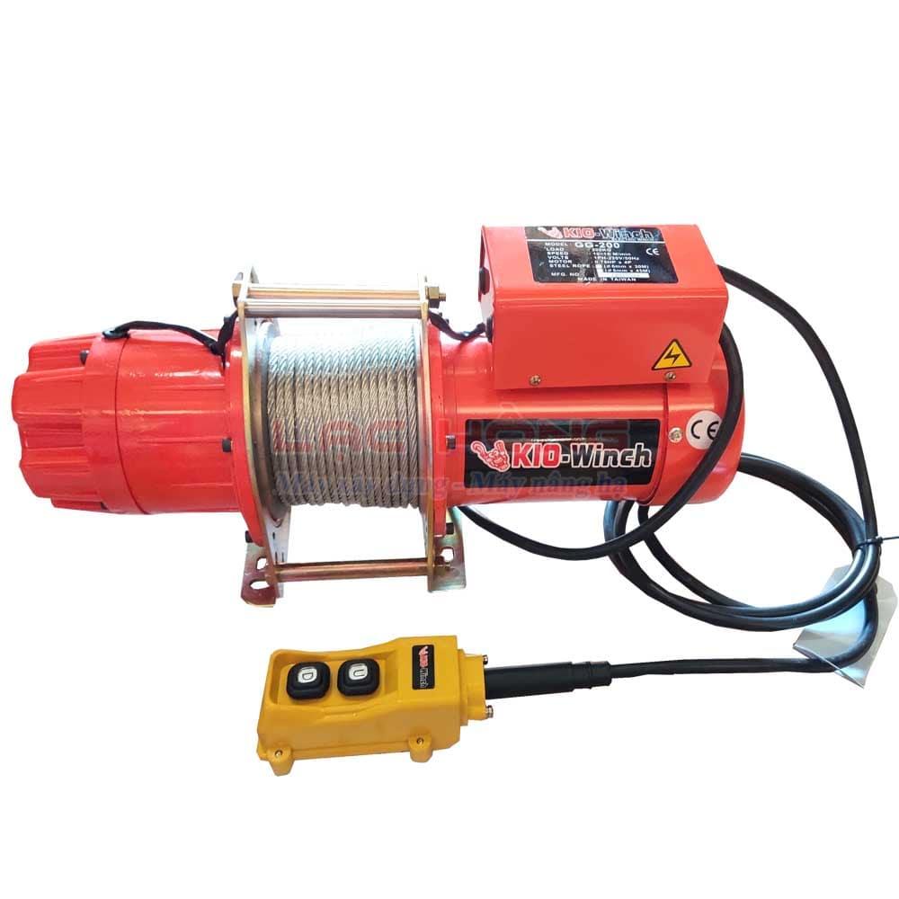 Tời điện mini Kio GG200 200kg-30m 220v