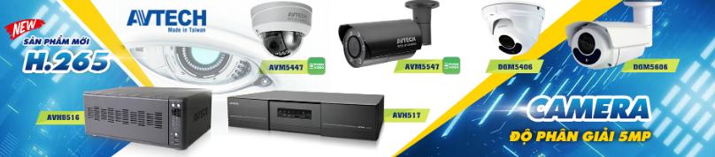 Tổng hợp những loại camera AVTECH giá rẻ, tốt nhất hiện nay 2019