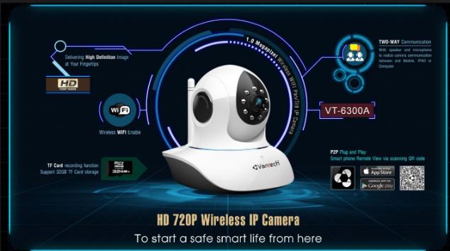 Tổng hợp những loại Camera VANTECH IP giá rẻ nhất hiện nay