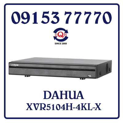 XVR5104H-4KL-X Đầu Ghi Hình DAHUA XVR5104H-4KL-X Giá Rẻ