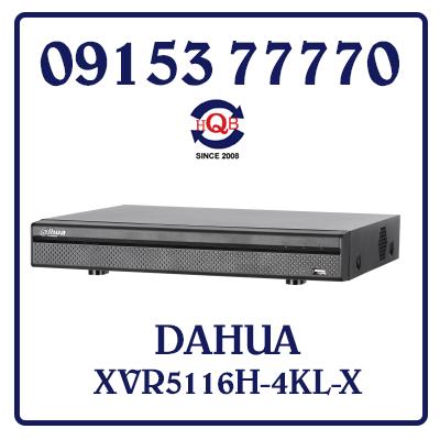 XVR5116H-4KL-X Đầu ghi Hình DAHUA XVR5116H-4KL-X Giá Rẻ